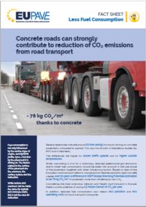 "Fact sheet ""Less Fuel Consumption"""