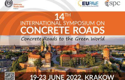 EUPAVE | 14th International Symposium on Concrete Roads, 25-29 June 2023, Krakow, Poland